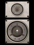 Audio altoparlanti ad alta fedeltà Immagine Stock Libera da Diritti