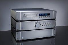 Audio amplifikator Zdjęcia Stock