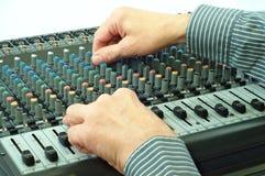 Audio apparaat Stock Foto