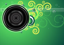 Audio background Royalty Free Stock Images