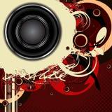 Audio background Royalty Free Stock Photos