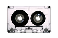 Audio backlit bandcassette - Stock Afbeeldingen