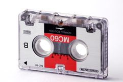 Audio band Royalty-vrije Stock Foto