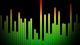 Audio bar stock footage