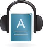 Audio-boek Royalty-vrije Stock Foto's