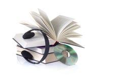Audio boeken Royalty-vrije Stock Afbeeldingen