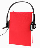 Audio book concep Stock Images
