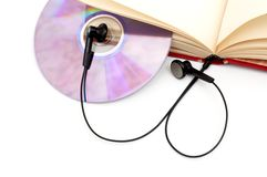 The audio-book concept. Royalty Free Stock Photography