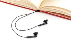The audio-book concept. Royalty Free Stock Images