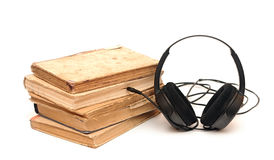 Audio book Stock Image