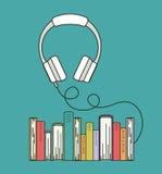 Audio book  icon Stock Image