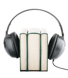 Audio books Royalty Free Stock Image