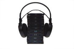 Audio books cassette Royalty Free Stock Photo