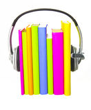 Audio Books Concept Royalty Free Stock Photography
