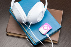 Audio books concept Stock Photos
