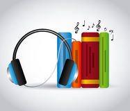 Audio books technology Stock Photos