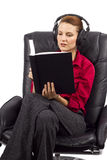 Audio Books Royalty Free Stock Photography
