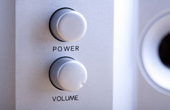 Audio buttons Stock Photos