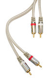 Audio cable Royalty Free Stock Image