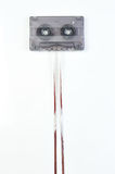 Audio casette with tape Royalty Free Stock Photography