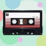 Audio cassetta Illustrazione di vettore illustrazione vettoriale