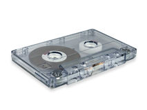Audio cassette. Stock Image