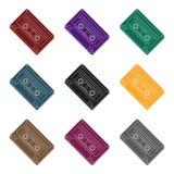 Audio cassette icon  Royalty Free Stock Image