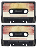 Audio cassette isolated Royalty Free Stock Photo