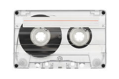 Audio cassette with label Stock Photography