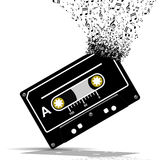 Audio cassette Music Royalty Free Stock Images