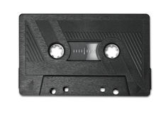 Audio cassette old tape music medium Stock Photo