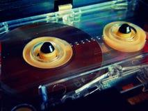 Audio cassette per il registratore Immagine Stock Libera da Diritti