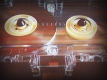 Audio cassette per il registratore Immagini Stock Libere da Diritti