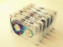Audio cassette per il registratore Fotografie Stock
