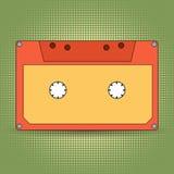 Audio cassette retro design Stock Photo