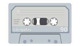 Audio Cassette royalty free illustration
