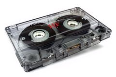 Audio cassette tape Stock Images