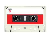 Audio Cassette Tape Royalty Free Stock Photography