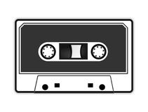 Audio cassette tape  illustration Royalty Free Stock Photos