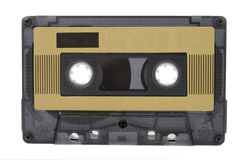 Audio cassette (tape) isolated Royalty Free Stock Photo