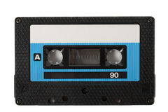 Audio cassette (tape) isolated Royalty Free Stock Photography