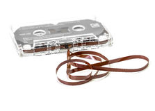 Audio cassette tape Royalty Free Stock Photo