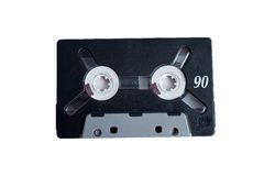 Audio-cassette. Audio-tape from the past Royalty Free Stock Photography