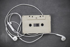 Audio Cassette tape- Retro-Styled Royalty Free Stock Images