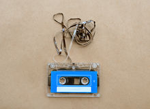 Audio cassette tape with subtracted out tape Stock Images