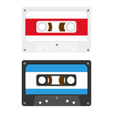 Audio Cassette Tapes Stock Photography