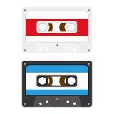 Audio Cassette Tapes. Retro Audio Cassette Tapes Illustration Stock Photography