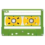 Audio Cassette transparent box Royalty Free Stock Image