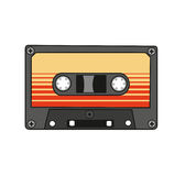 Audio cassette. Vector. Royalty Free Stock Photos