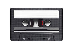 Audio cassette on white Stock Photos